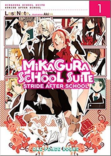 bookcover of Mikagura School Suit vol.1